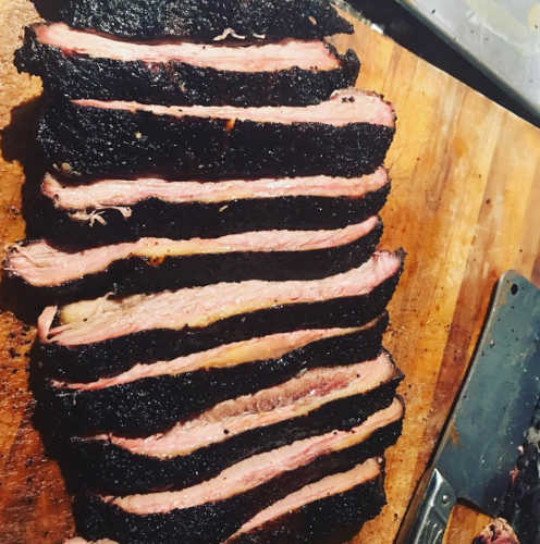 Texas Brisket Sandwich